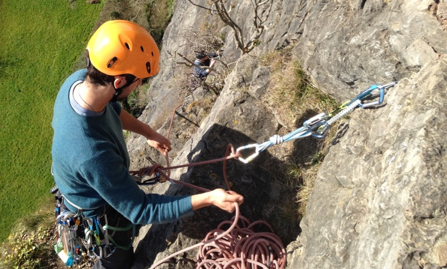 Multipitch Climbing Course