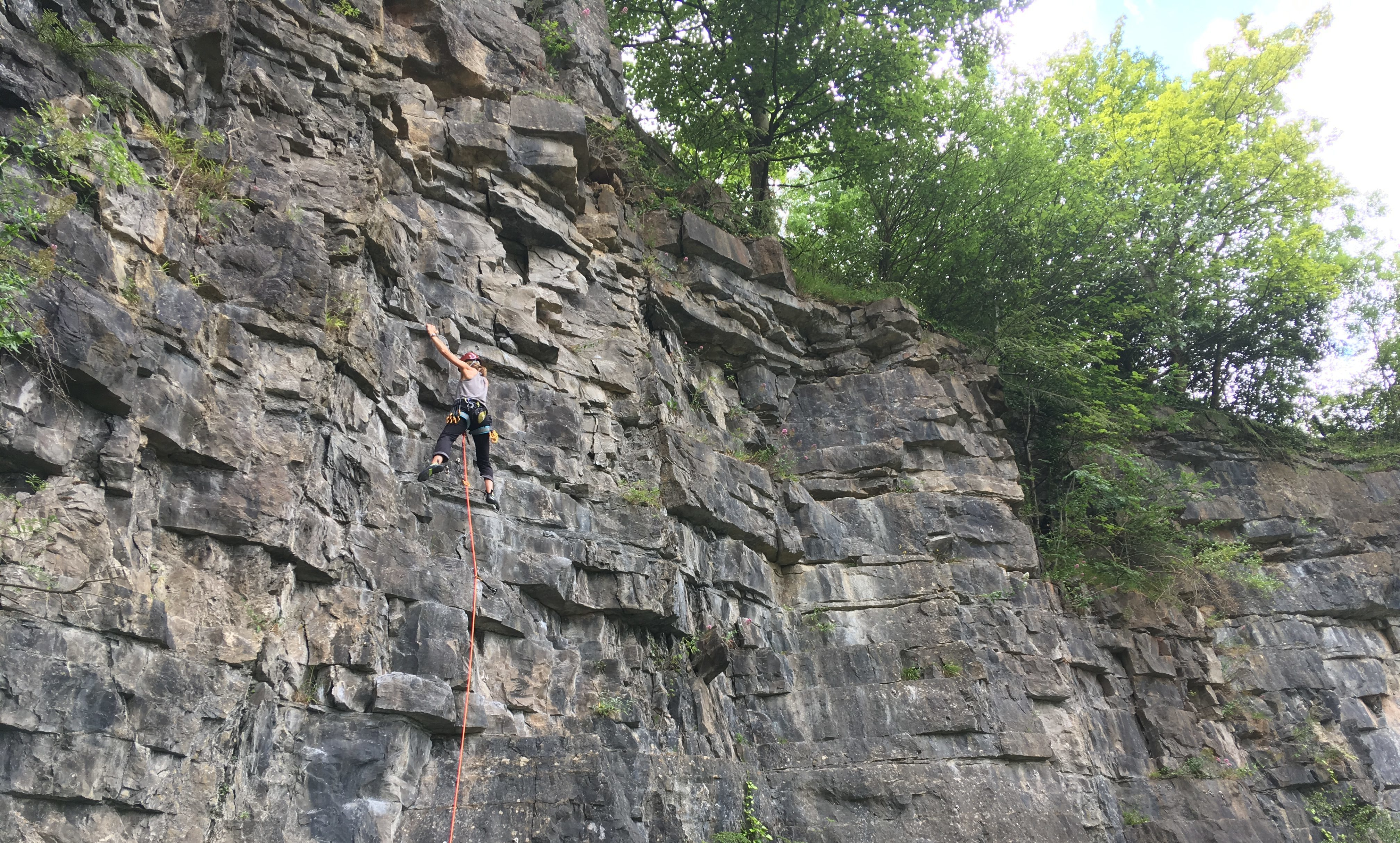 Learn to Lead Climb Course - Sport